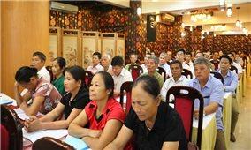 Ban Dân tộc thành phố Hà Nội tổ chức Hội nghị tập huấn, bồi dưỡng cho Người có uy tín