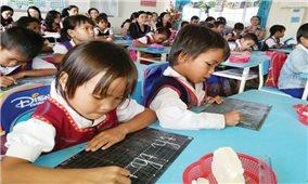 Chương trình giáo dục phổ thông mới cấp tiểu học: Chú trọng đến đối tượng học sinh là người DTTS, miền núi