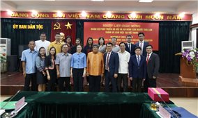 Việt Nam-Thái Lan: Tăng cường hợp tác về lĩnh vực công tác dân tộc