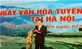Ngày văn hóa Tuyên Quang tại Hà Nội