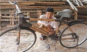 Làng nghề Hàm Giang: Đưa sản phẩm từ tre xuất ngoại