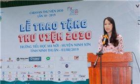 Lễ trao tặng Thư viện 2030 tại Ninh Thuận