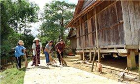 Xây dựng NTM các địa phương miền núi Quảng Ngãi: Mục tiêu vẫn còn xa