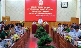 Phó Thủ tướng Thường trực Chính phủ làm việc tại Thừa Thiên-Huế
