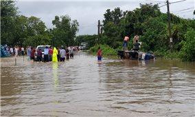 Tây Nguyên: Tập trung mọi nguồn lực ứng phó mưa lũ