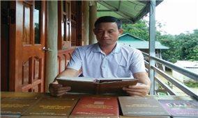 Tòng Văn Hân: Tác giả của những công trình nghiên cứu văn hóa dân tộc Thái