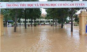 Các tỉnh Bắc miền Trung: Thiệt hại nặng nề do hoàn lưu bão