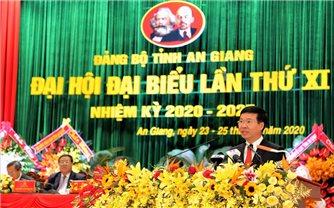 Đại hội Đại biểu Đảng bộ tỉnh An Giang lần thứ XI, nhiệm kỳ 2020 - 2025 thành công tốt đẹp