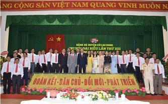 Đại hội Đảng bộ huyện Cù Lao Dung (Sóc Trăng): Huy động mọi nguồn lực để tạo sự chuyển biến căn bản