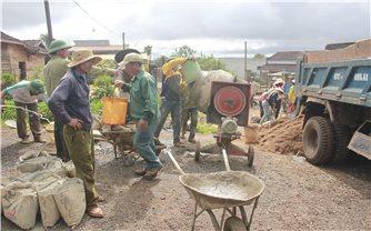 Huyện Ea H'leo (Đăk Lăk): Người dân đồng lòng xây dựng nông thôn mới