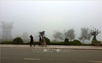 Thời tiết tại Sa Pa chuyển rét đậm, rét hại, nhiệt độ giảm còn 12,2 độ C