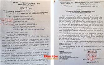Nho Quan (Ninh Bình): UBND xã lập hồ sơ khống, rút tiền ngân sách