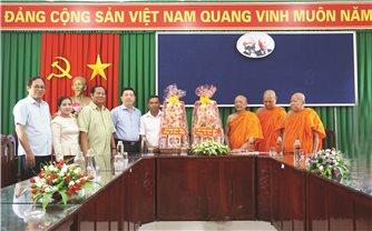 Đoàn công tác Ủy ban Dân tộc: Thăm và làm việc tại Sóc Trăng, Bạc Liêu
