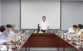 UBDT: Họp hội đồng tư vấn tuyển chọn thực hiện nhiệm vụ khoa học cấp Bộ năm 2020-2021