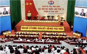 Khai mạc Đại hội Đảng bộ tỉnh Vĩnh Long lần thứ XI, nhiệm kỳ 2020-2025