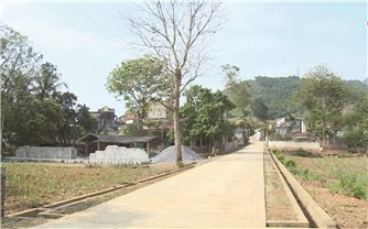 Thúc đẩy xây dựng nông thôn mới bằng cơ chế đặc thù