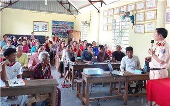 Bình Phước: Tuyên truyền, hướng dẫn luật giao thông cho đồng bào S'tiêng