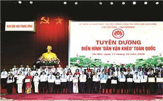 Công tác dân vận của Đảng trong sự nghiệp đổi mới