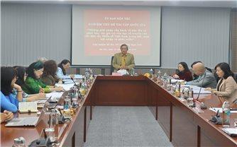 Ủy ban Dân tộc: Nghiệm thu đề tài khoa học cấp quốc gia