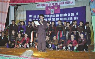 Người nghệ nhân tâm huyết với văn hóa Cao Lan