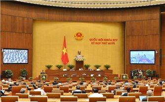 Kỳ họp thứ 10, Quốc hội khóa XIV: Nâng cao hiệu quả công tác phòng, chống tội phạm và vi phạm pháp luật