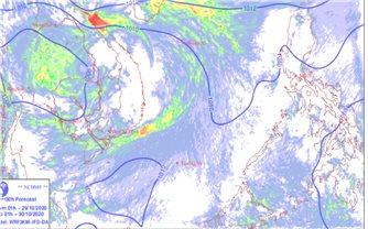 Không khí lạnh tăng cường, mưa lớn ở các tỉnh từ Thanh Hóa đến Bắc Tây Nguyên