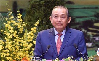 Toàn văn phát biểu của Phó Thủ tướng Chính phủ Trương Hòa Bình tại Đại hội đại biểu toàn quốc các DTTS Việt Nam lần thứ II
