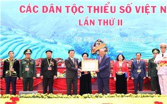 Những phần thưởng cao quý được trao tặng tại Đại hội đại biểu toàn quốc các DTTS Việt Nam lần thứ II, năm 2020