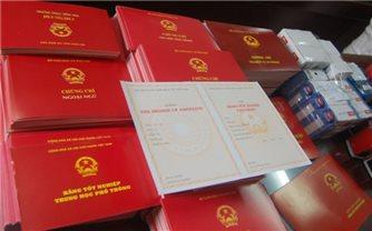 Bộ Giáo dục và Đào tạo yêu cầu tăng cường công tác quản lý văn bằng, chứng chỉ