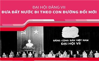 Đại hội Đảng VII: Đưa đất nước đi theo con đường đổi mới