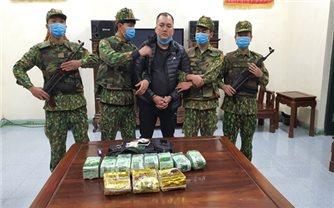 Bộ đội Biên phòng tỉnh Hà Tĩnh bắt giữ đối tượng vận chuyển số lượng lớn ma túy