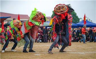 Múa ky lằn ngày Xuân ở xứ Lạng
