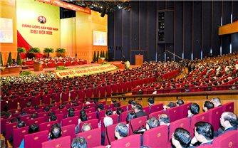 Đại hội XIII của Đảng: Tiếp tục thảo luận Văn kiện trong ngày làm việc thứ ba