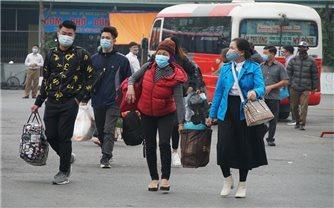 Người dân phải khai báo y tế khi trở lại Hà Nội sau kỳ nghỉ Tết Nguyên đán Tân Sửu