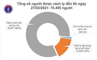 1.839 bệnh nhân COVID-19 đã khỏi bệnh