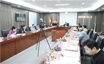 Đảng ủy cơ quan Ủy ban Dân tộc: Hội nghị Ban Chấp hành Đảng bộ lần thứ 6, nhiệm kỳ 2020-2025