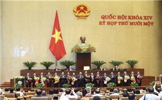 Các thành viên Chính phủ nhiệm kỳ 2016-2021 (kiện toàn tại kỳ họp thứ 11, Quốc hội khóa XIV)