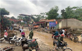 Huyện Văn Bàn (Lào Cai): Tập trung khắc phục thiệt hại do mưa lũ gây ra