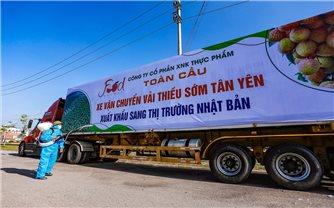 """Bắc Giang: """"Vượt dịch"""" xuất khẩu vải thiều"""