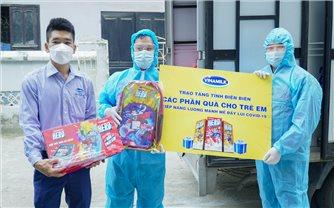 Quỹ sữa vươn cao Việt Nam và hành trình đến với trẻ em Điện Biên trong mùa dịch