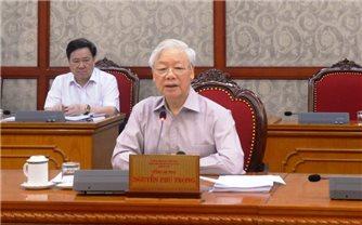 Tổng Bí thư Nguyễn Phú Trọng: Tiếp tục huy động cả hệ thống chính trị phòng, chống dịch Covid-19
