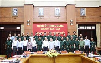 Tổng Bí thư chủ trì Hội nghị Quân ủy Trung ương lần thứ nhất khóa XI