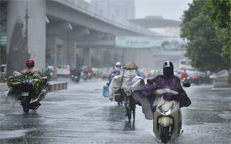 Dự báo thời tiết hôm nay 30/7: Thủ đô Hà Nội có mưa rào và dông