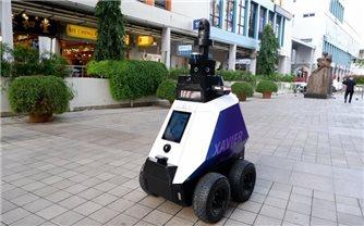 Singapore thử nghiệm robot tuần tra đường phố