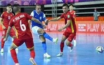 World Cup Futsal 2021: Đội tuyển Việt Nam thất bại trước đội bóng số 2 thế giới