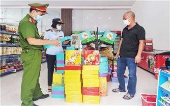 Bắc Giang: Phát hiện, thu giữ hơn 10.000 bánh Trung thu không rõ nguồn gốc xuất xứ