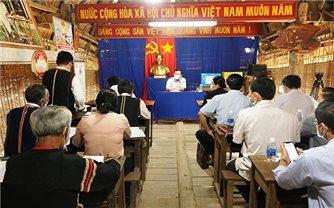 Bí thư Tỉnh ủy Kon Tum kiểm tra, làm việc tại các thôn đồng bào DTTS trên địa bàn TP. Kon Tum