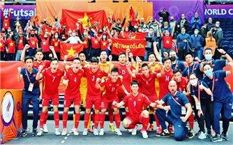 Nhìn lại hành trình của đội tuyển Việt Nam tại FIFA Futsal World Cup