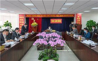 Chủ tịch UBND tỉnh Lâm Đồng làm việc với Ban Dân tộc tỉnh