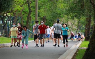 Từ ngày 28/9: Hà Nội cho phép thể dục thể thao ngoài trời, trung tâm thương mại hoạt động trở lại